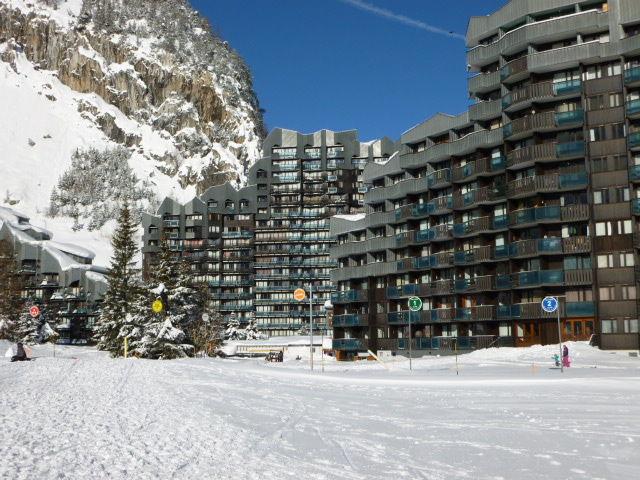 Vue extérieure de la location Location Appartement 73448 Val d'Isère