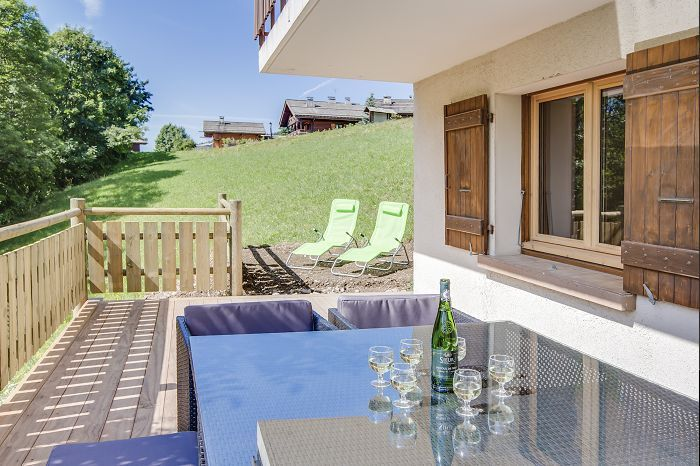 Terrasse Location Appartement 75054 Le Grand Bornand