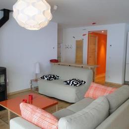 Salon Location Appartement 76575 Valmorel