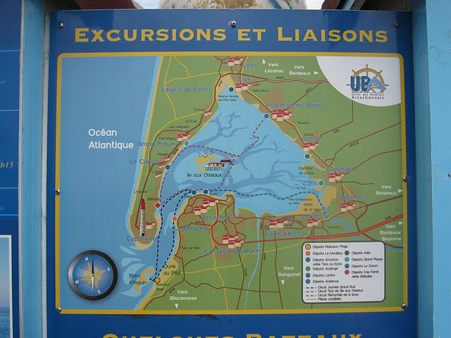Carte Location Mobil-home 93639 Arcachon