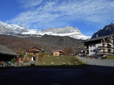 Vue du balcon Location Studio 90652 Chamonix Mont-Blanc
