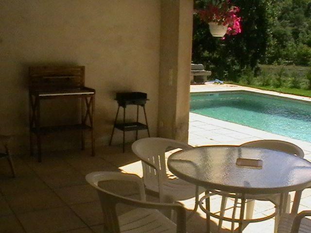 Vue de la terrasse Location Appartement 95587 Bonnieux