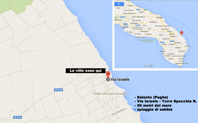 Location Villa 78071 San Foca