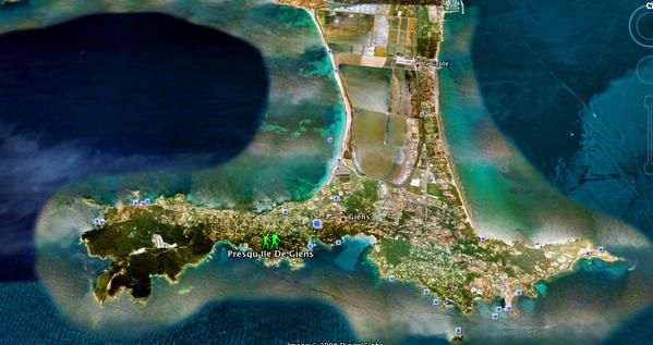 Carte Location Appartement 88554 Hyères