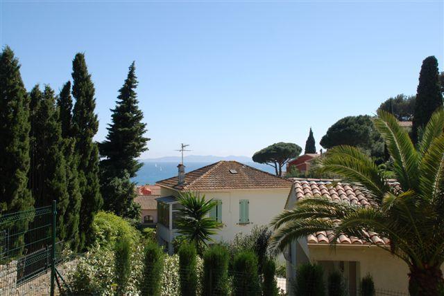 Vue depuis la location Location Villa 89455 Le Lavandou