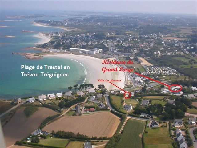 Plan de la location Location Appartement 94927 Perros-Guirec