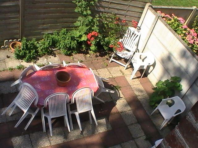 Vue de la terrasse Location Maison 10768 Cabourg