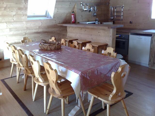 Salle à manger Location Chalet 108 Alpe d'Huez