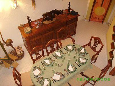 Salle à manger Location Villa 10817 Saly