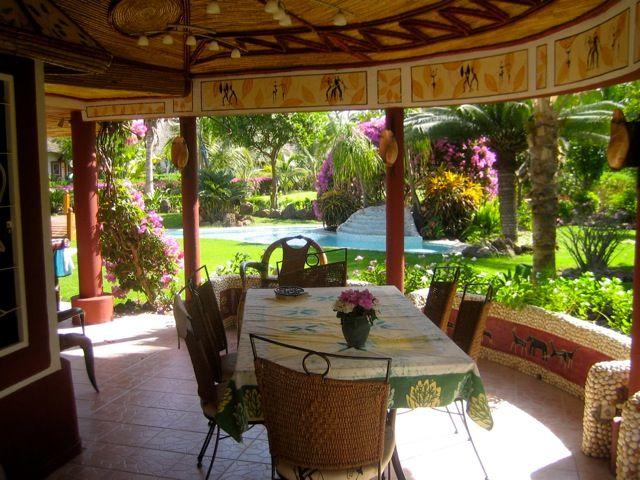 Vue de la terrasse Location Villa 10817 Saly