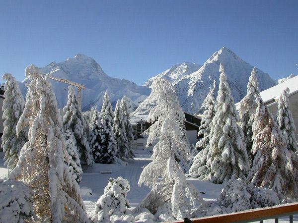 Vue depuis la location Location Appartement 1134 Les 2 Alpes