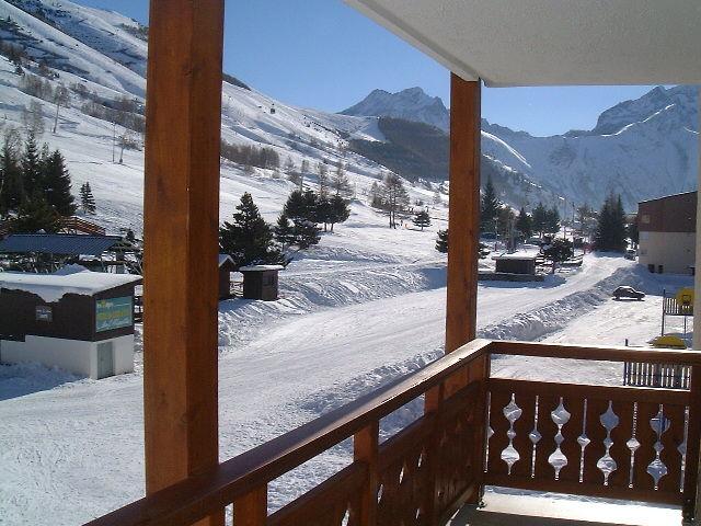 Balcon 2 Location Appartement 1219 Les 2 Alpes