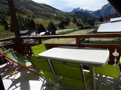 Balcon 1 Location Appartement 1219 Les 2 Alpes