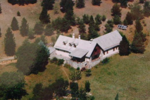 Vue extérieure de la location Location Maison 12782 Rousset