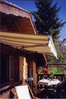 Terrasse Location Chalet 1363 Le Grand Bornand