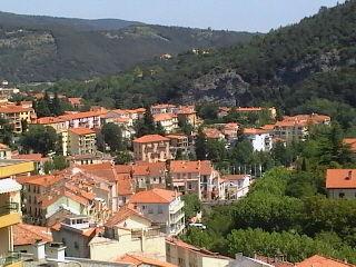 Vue du balcon Location Studio 14395 Amélie-Les-Bains