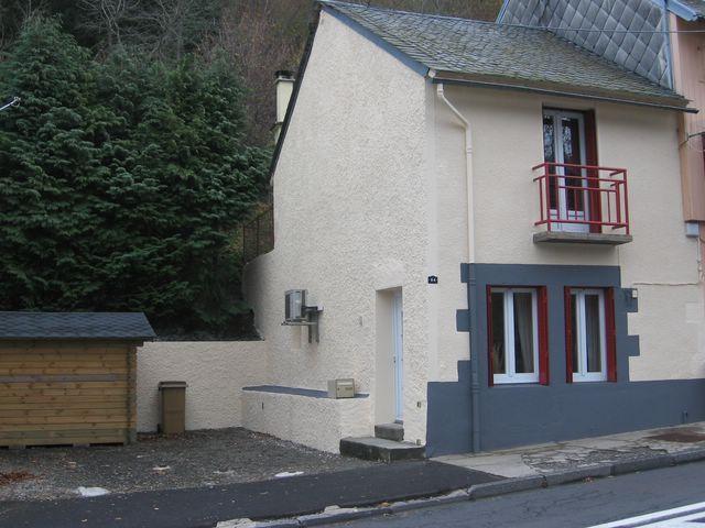 Vue extérieure de la location Location Maison 14875 Le Mont Dore