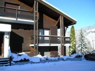 Vue extérieure de la location Location Appartement 1534 Megève