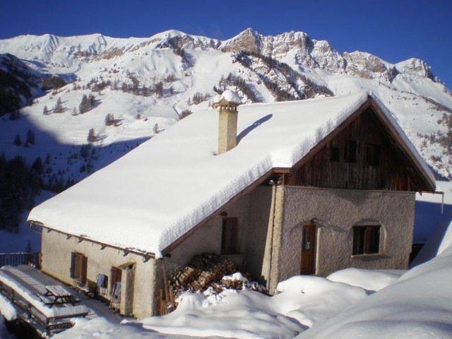 Vue extérieure de la location Location Chalet 1575 Molines Saint-Véran