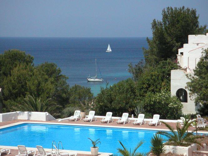 Vue de la terrasse Location Appartement 15805 Ibiza