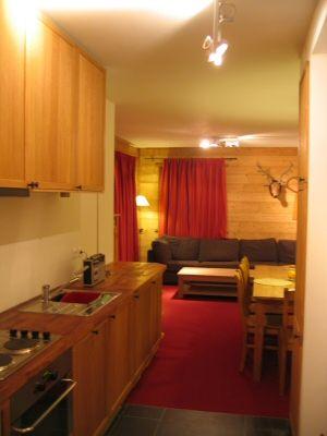 Coin cuisine Location Appartement 16377 La Rosière 1850