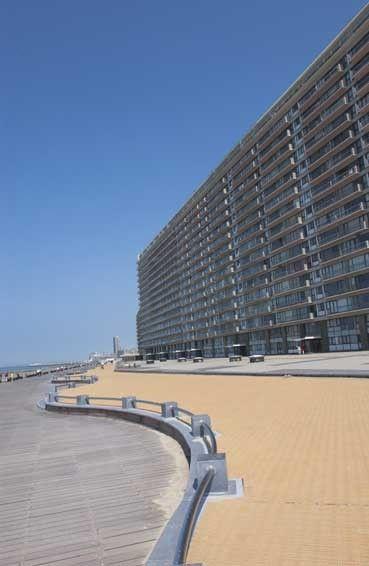 Vue extérieure de la location Location Studio 16612 Ostende