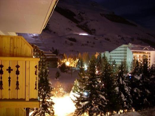 Vue du balcon Location Appartement 17219 Les 2 Alpes