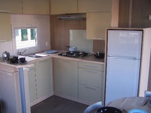 Cuisine américaine Location Mobil-home 17224 Deauville