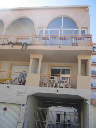 Vue extérieure de la location Location Appartement 17396 Palavas-les-Flots