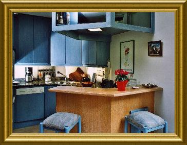 Cuisine américaine Location Appartement 1784 Méribel