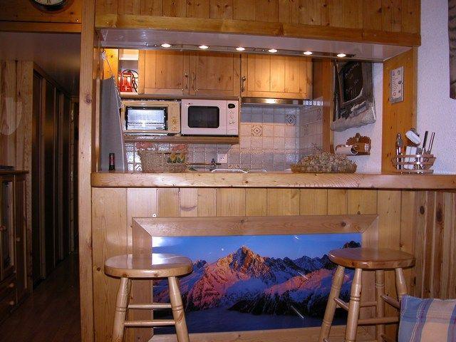 Cuisine américaine Location Studio 211 Les Arcs