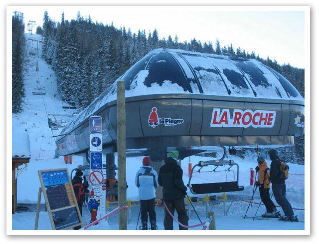 Vue autre Location Chalet 2148 La Plagne