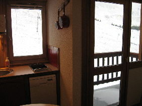 Coin cuisine Location Studio 2153 La Plagne