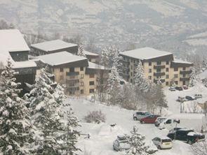 Vue extérieure de la location Location Appartement 2336 Pra Loup