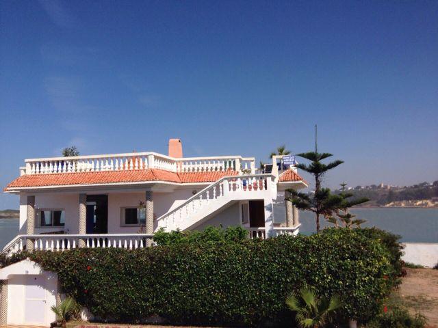 Vue extérieure de la location Location Villa 23490 Oualidia
