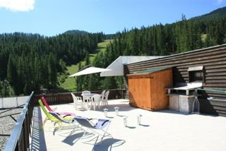 Vue de la terrasse Location Appartement 2386 Puy Saint Vincent