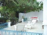 Vue de la terrasse Location Bungalow 25078 Nabeul