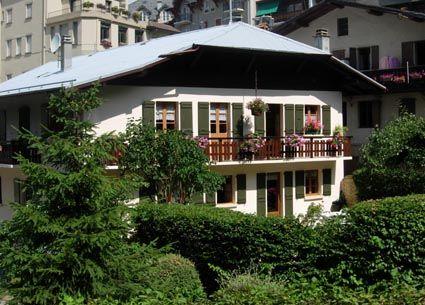 Vue extérieure de la location Location Appartement 2561 Saint Gervais Mont-Blanc