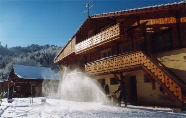 Vue extérieure de la location Location Appartement 2576 Saint-Gervais-les-Bains