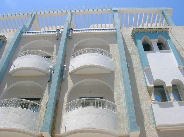 Vue extérieure de la location Location Appartement 25792 Sousse