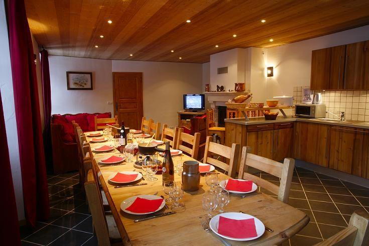Cuisine américaine Location Appartement 26150 Valloire