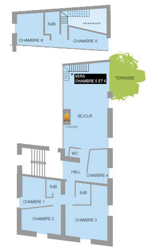 Plan de la location Location Appartement 26150 Valloire