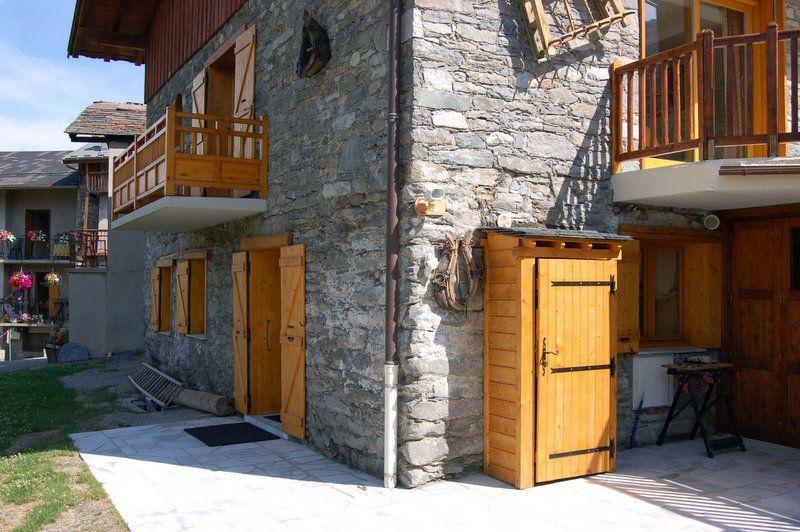 Vue extérieure de la location Location Appartement 2664 Les Menuires