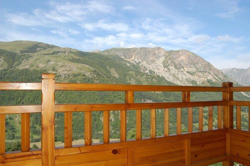 Vue du balcon Location Chalet 2665 Saint Martin de Belleville
