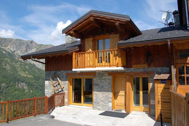 Vue extérieure de la location Location Chalet 2665 Saint Martin de Belleville