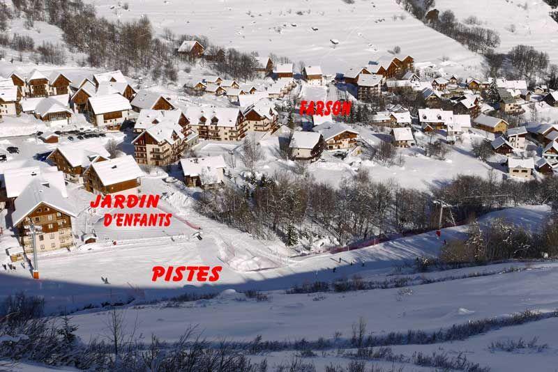 Plan de la location Location Chalet 2686 Saint Sorlin d'Arves