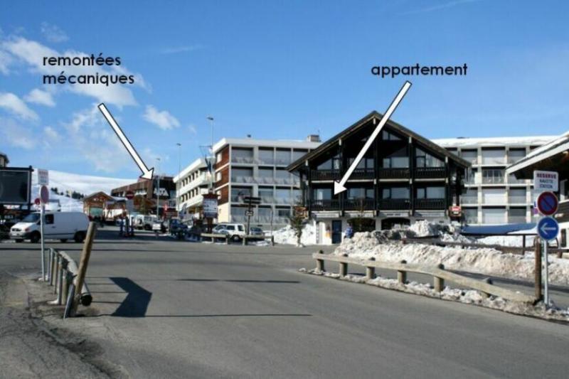 Vue extérieure de la location Location Appartement 27 Alpe d'Huez