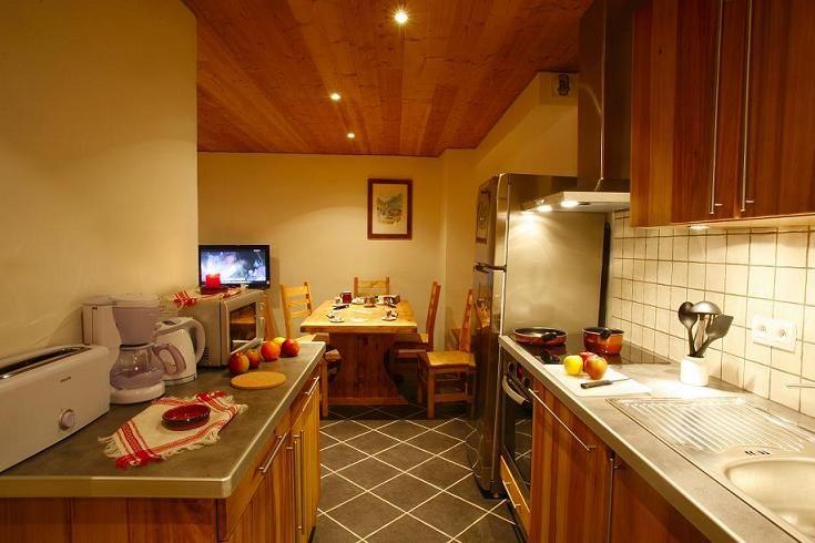 Cuisine américaine Location Appartement 27146 Valloire