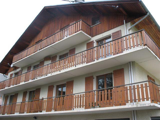 Vue extérieure de la location Location Appartement 27289 Saint Sorlin d'Arves