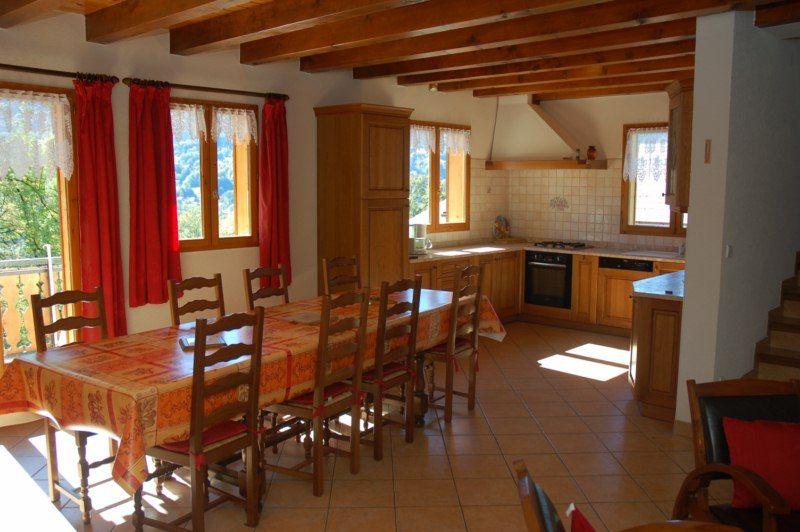 Salle à manger Location Chalet 2757 Samoëns